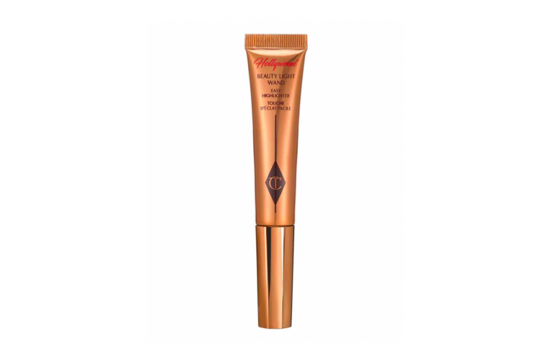 charlotte tilbury, beauty light wand, highlighter, face, make up, beauty, midult beauty, beauty school dropout