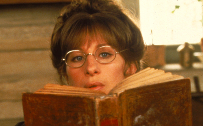 an astrological look at yentl, barbra streisand, reading, book, reading list, recommended books, autumn reading list
