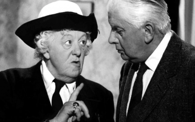 miss marple, margaret rutherford, agatha christie, detective, mystery, weird
