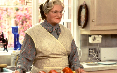 mrs doubtfire, robin williams, life hacks, life cheats, solutions, shortcuts