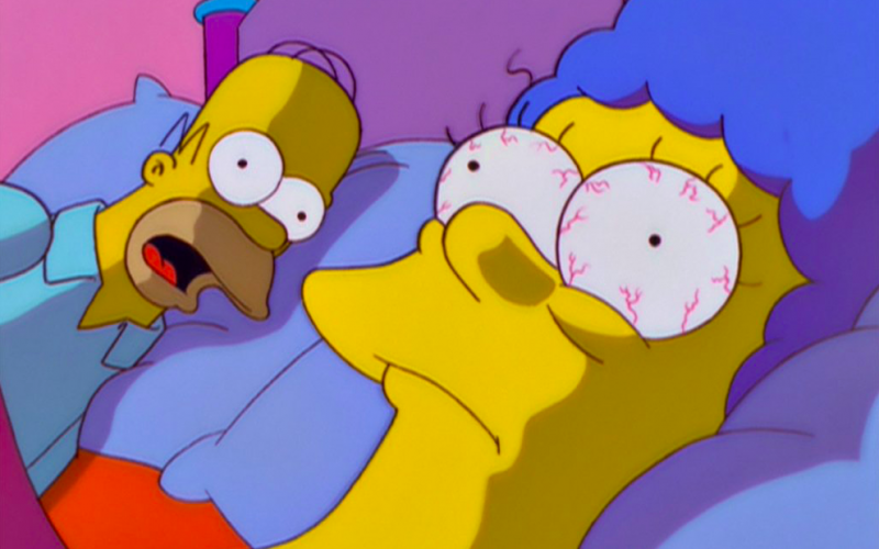 homer simpson, marge simpson, the simpsons, marriage, divorce, separation