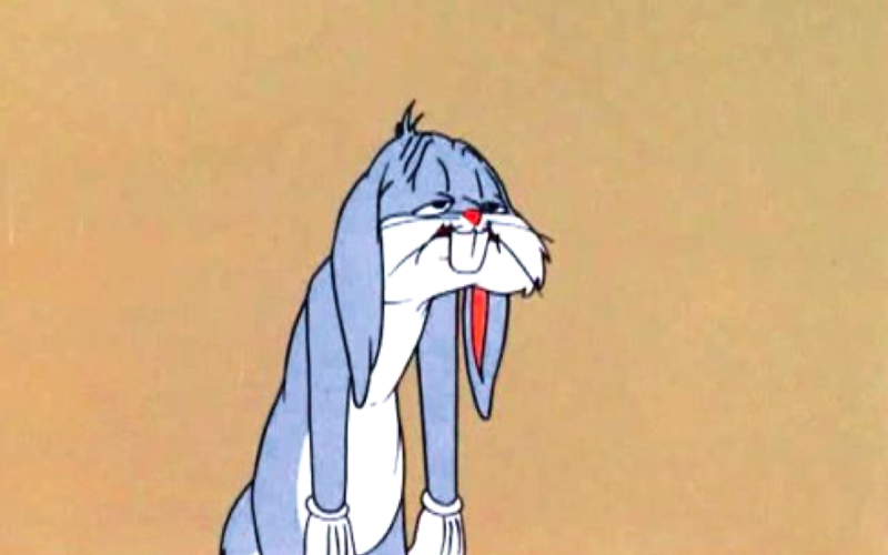 bugs bunny, looney tunes, tired, exhausted, burnt out, burnout