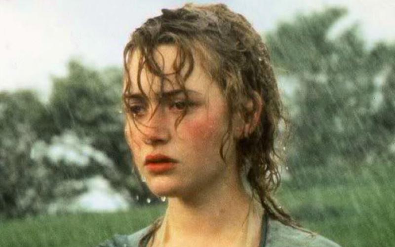 kate winslet, sense or sensibility, jane austen, rain, stressed, worry, anxious
