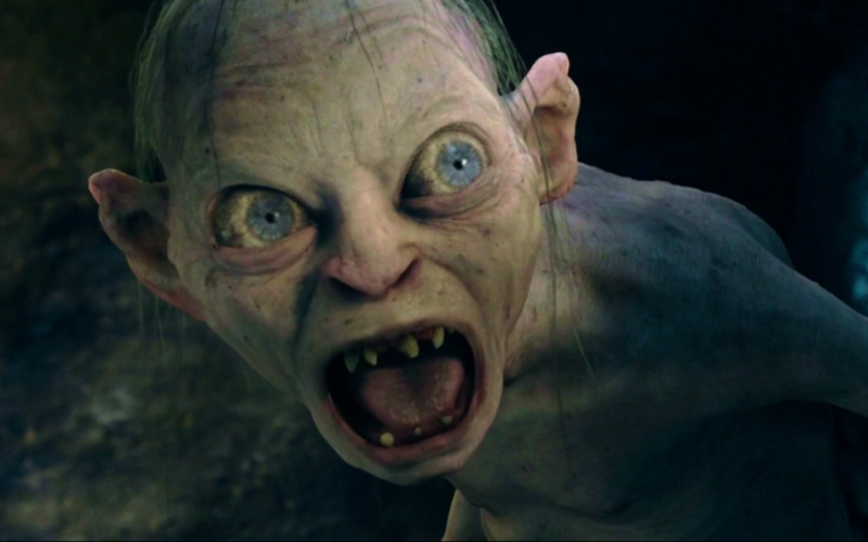 gollum, lord of the rings, unpleasant, nasty personality, lockdown