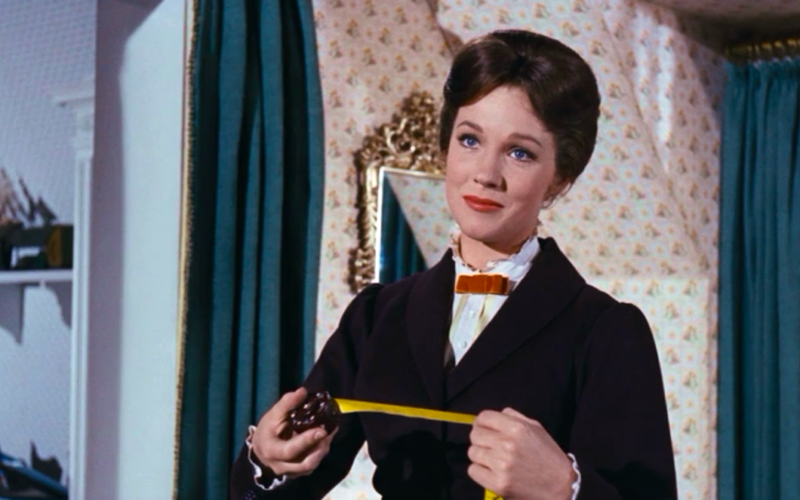 mary poppins, tape measure, perfect, practically perfect in every way, perfectionism, perfectionism problems