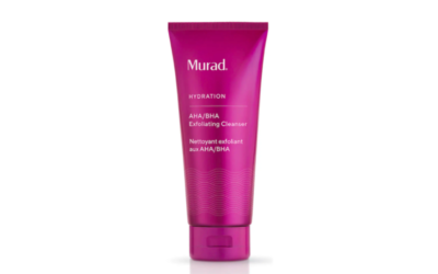 murad, exfoliating cleanser, cleanse, clean, face, skincare, beauty, midult beauty, beauty school dropout