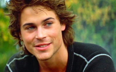 rob lowe, young, brat pack, handsome, 80s