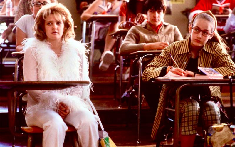 Never Been Kissed, School, Back to School, September, Drew Barrymore, Classroom
