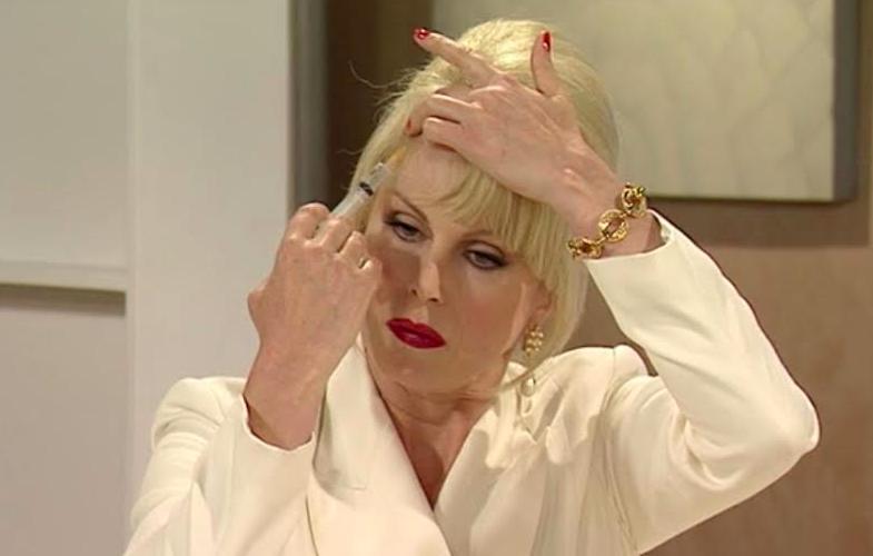 Patsy, Injection, Botox, Ab-Fab, Joanna Lumley